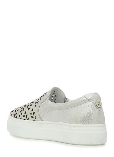 NetWork Sneakers Gümüş